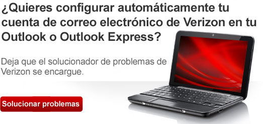 Configurar Outlook Express automáticamente
