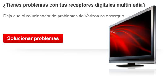 Imagen del programa para el diagnstico de problemas de Verizon para restablecer tu receptor digital multimedia