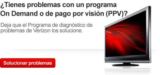Imagen del programa para el diagnstico de problemas de Verizon para restablecer tu receptor digital multimedia y solucionar problemas con On Demand