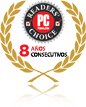 Logotipo de Readers Choice de Pcmag.com