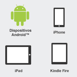 Android, iPhone, iPad, Kindle Fire