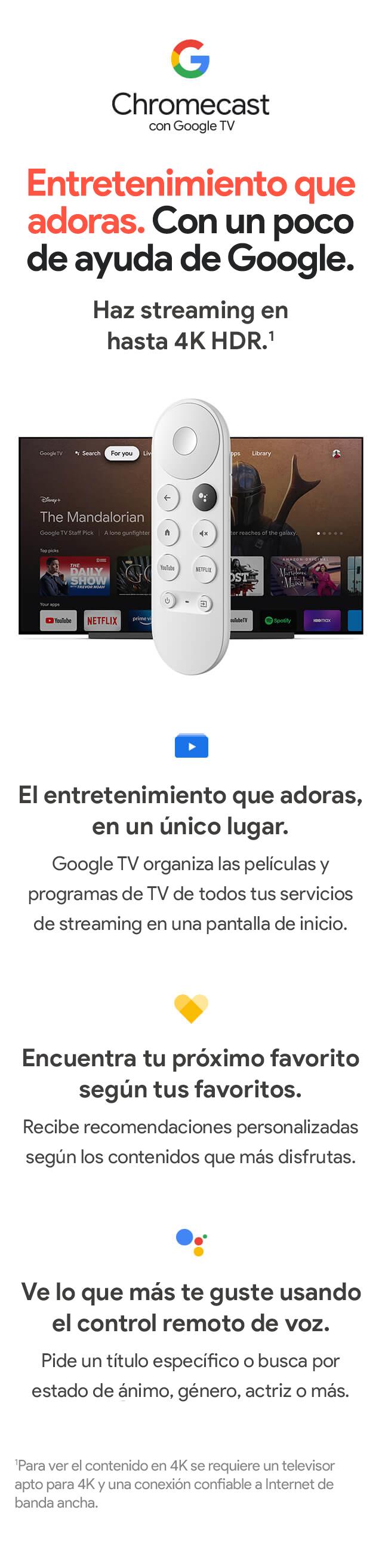 Presentación de Chromecast