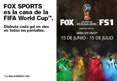 FOX SPORTS es la casa de la FIFA World Cup