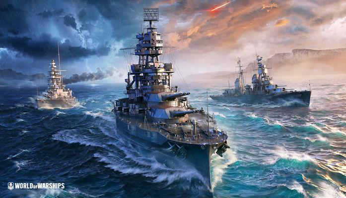 Tarjeta de World of Warships