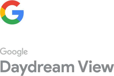 Logotipo de la G de Google con texto incluido - Google Daydream View