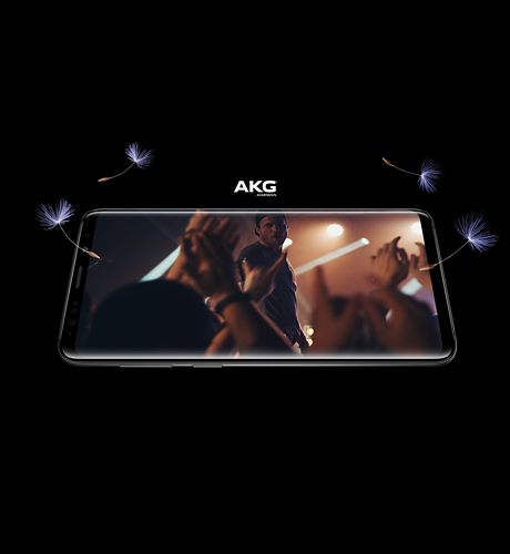 Samsung Galaxy S9 Prepaid Immersive entertainment.